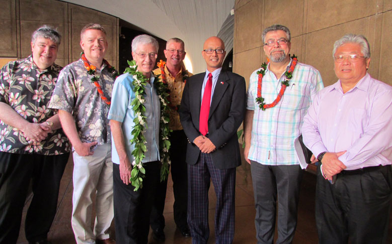 Hawaii State Aerospace Caucus and NASA Discuss Proposed Laser Communications Ground Station