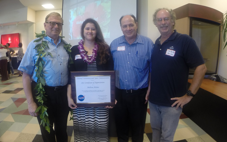 Former PISCES Intern Honored at UH Hilo