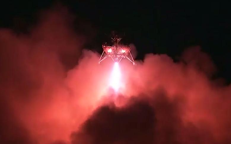 NASA's Morpheus Lander Nails Night Flight