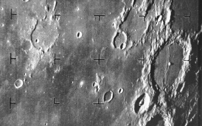 50 Years Ago: First Moon Image Captured by a U.S. Spacecraft