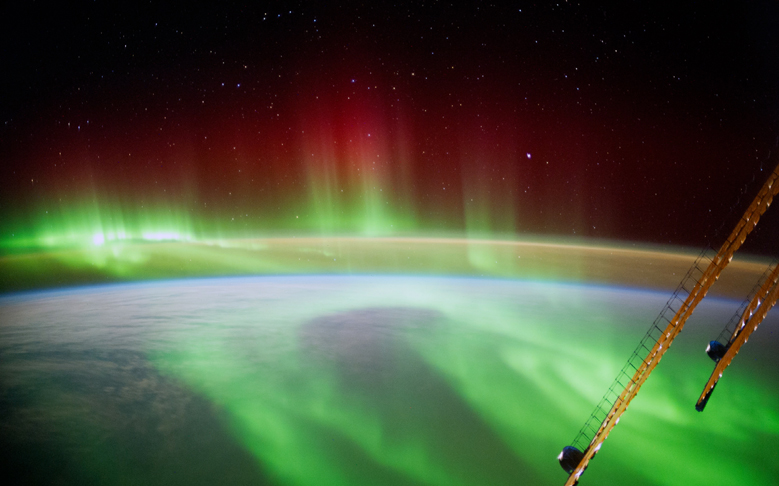 Space Image of the Week: Aurora Seen from the ISS