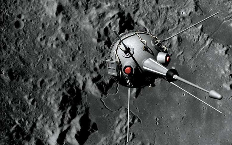 First Contact With Lunar Surface Made by 'Luna 2' 55-years Ago