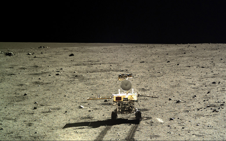 China Releases New Photos Taken by 'Jade Rabbit' Lunar Rover