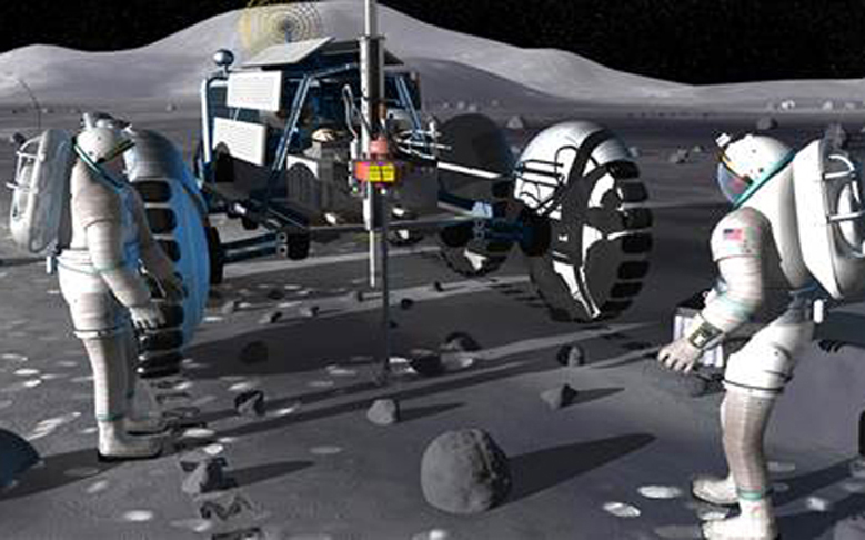 NASA Plans to Mine Water on the Moon