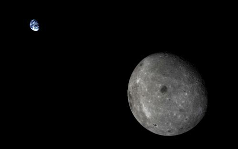 Chinese Spacecraft Captures Incredible Earth and Moon Images