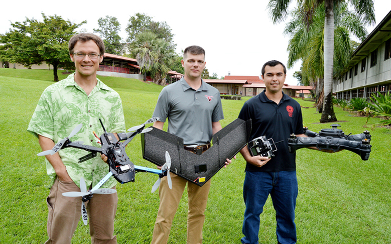 Former PISCES Intern Uses High-Flying Technology In Disaster Relief Effort