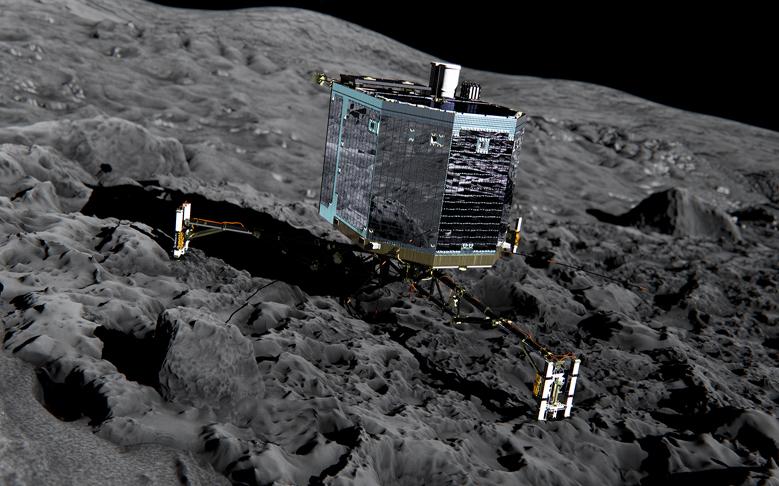 ESA Spacecraft Makes Historic Comet Landing