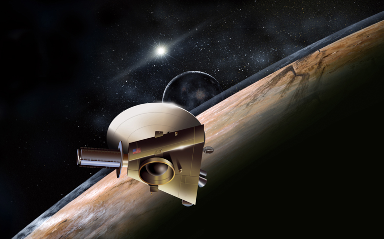 Probe to Relay First Up-close Data and Imagery of Pluto