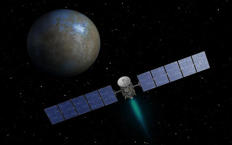 NASA Probe Making First Rendezvous with Dwarf Planet
