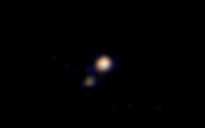 NASA Releases First Color Image of Pluto
