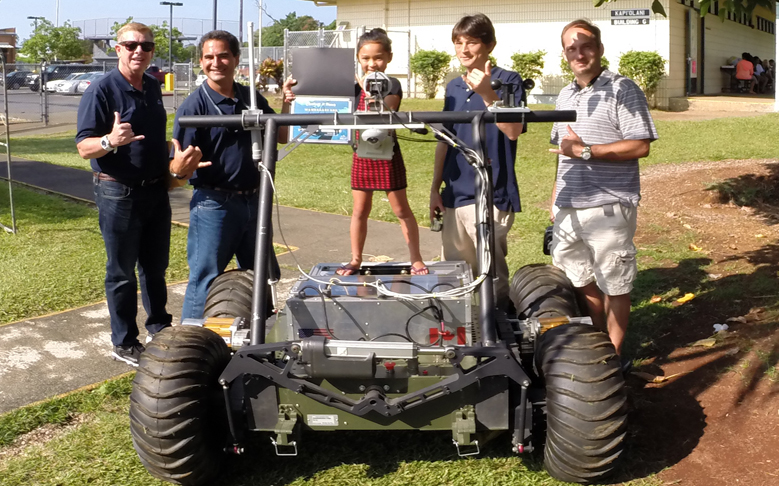 Second-grader Names PISCES Rover