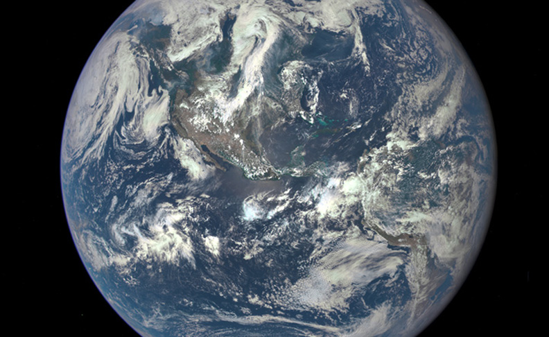 NASA Releases 'EPIC' Earth Image
