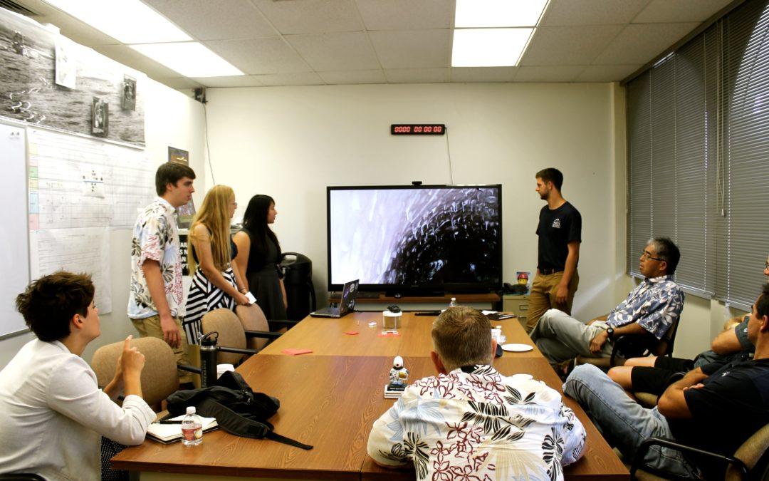 Students Complete PISCES 2015 Summer Internship