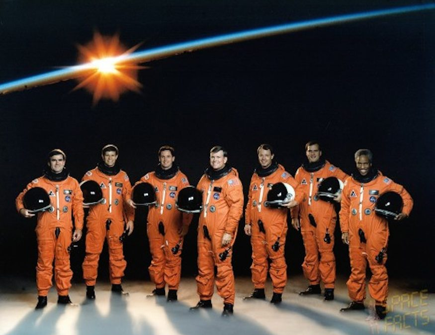 Honoring STS-39 and Hawaii Astronaut Lacy Veach