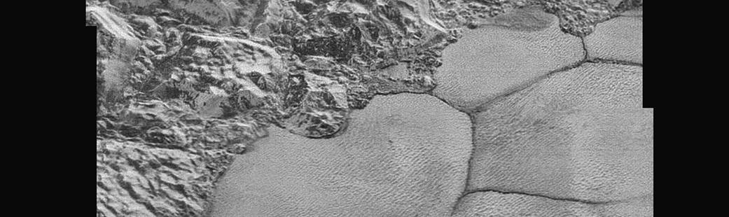 New Horizons Reveals Close-Up of Pluto's Surface