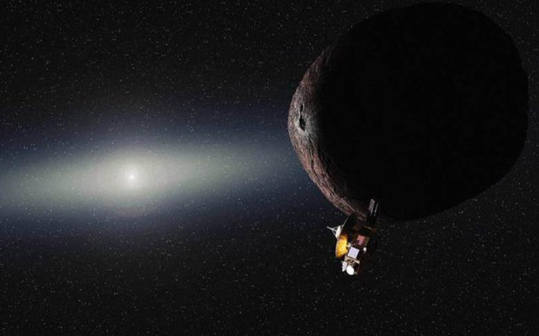 New Horizons Spacecraft Speeds Toward Kuiper Belt Object