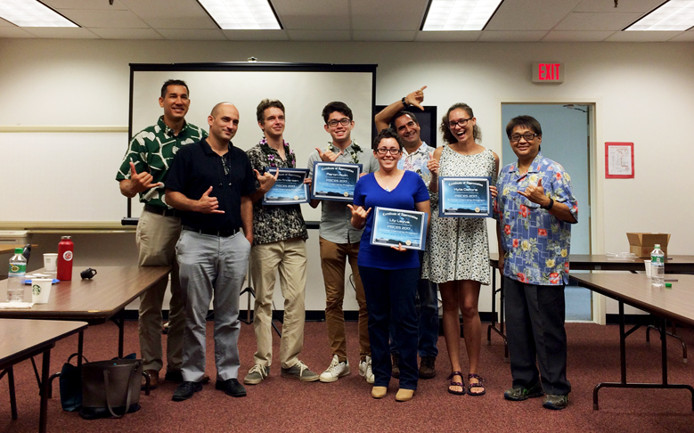 Interns Present Final Results of Space Tech Projects