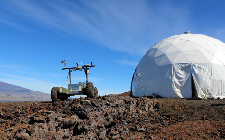 PISCES Rover Gets Spotlight for Episode of 'Space Craft'