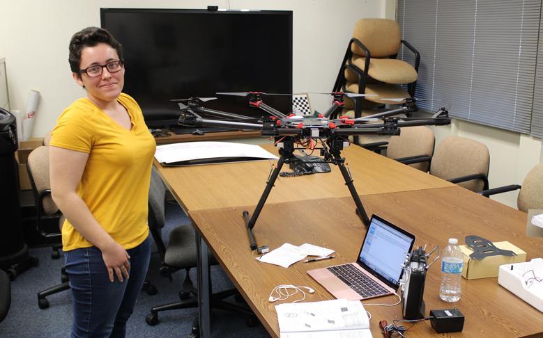 Former Intern Returns to Build UAV During Holidays