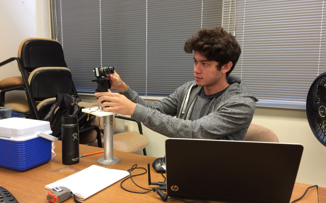 Former PISCES Intern Hired by NASA's Jet Propulsion Laboratory
