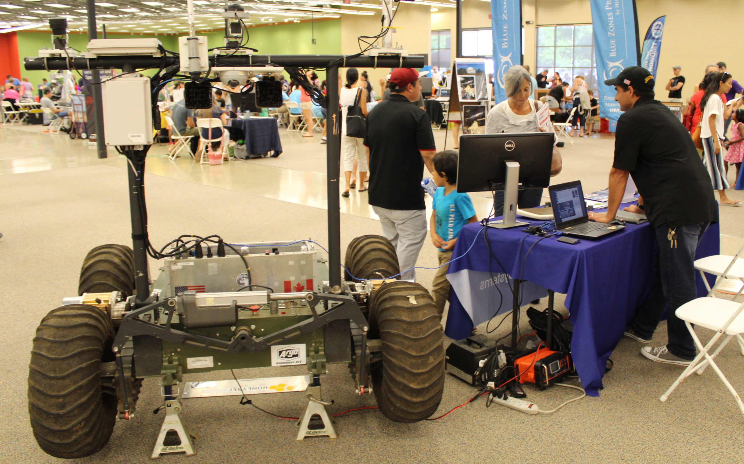 Helelani Rover Featured at 2nd Annual AstroDay West Hawaii
