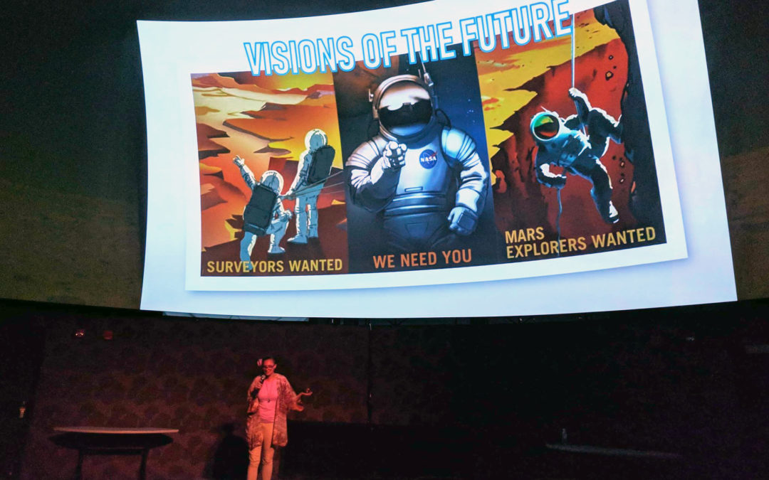 PISCES Presents 'Solutions for Colonizing Mars' at 'Imiloa