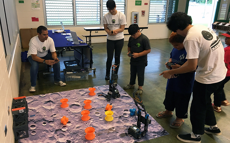 Keaukaha STEM Event Engages Youth with Science & Culture