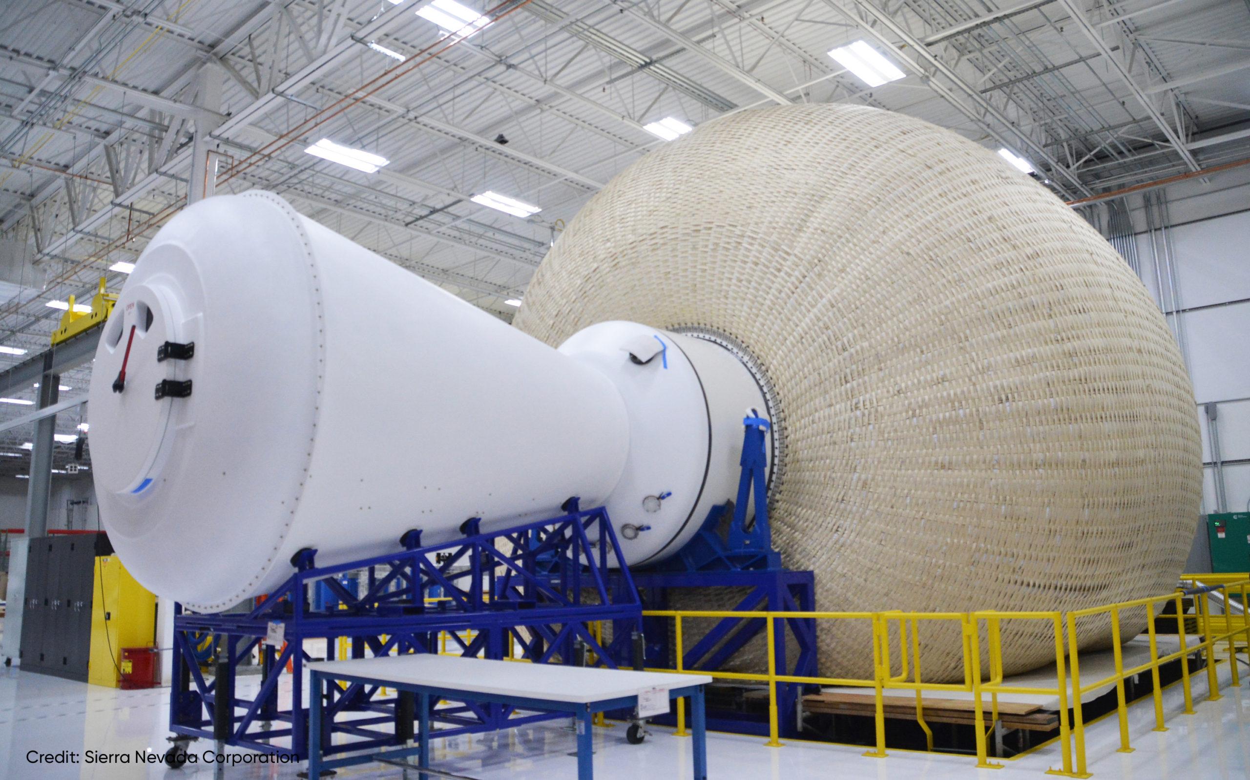 Inflatable Lunar Gateway Undergoes Testing at NASA