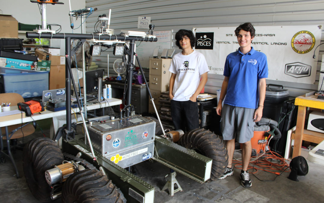 Interns Wrap up Summer Science & Technology Projects