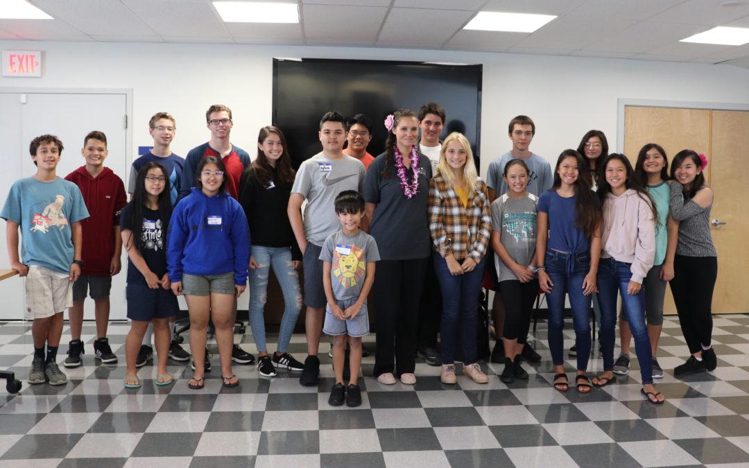 PISCES Challenges Young Minds at NexTech STEM Workshop