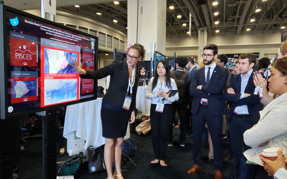 PISCES Presents Basalt Research at 70th IAC Conference