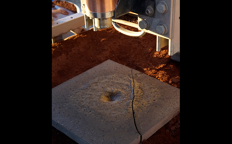 Basalt Tile Tested for Launchpad by Masten Space Systems