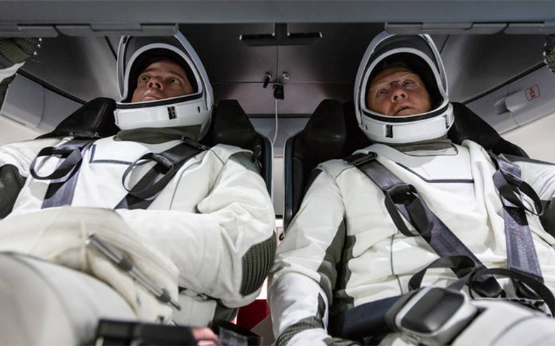 SpaceX Sends Two Astronauts to ISS in Historic Launch
