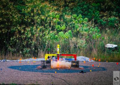ISRU Launch & Landing Pad