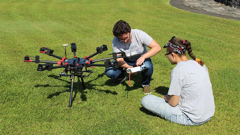 UAV Pest Control System
