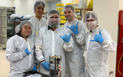 Students get Hands-on Aerospace Work through HSFL