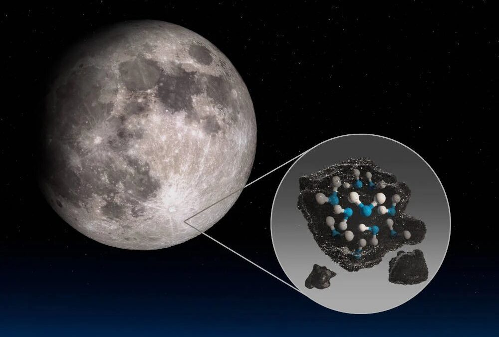 Water Discovered on Sunlit Surface of Moon for First Time