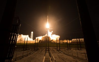 NASA and SpaceX launch 2nd crewed mission to ISS