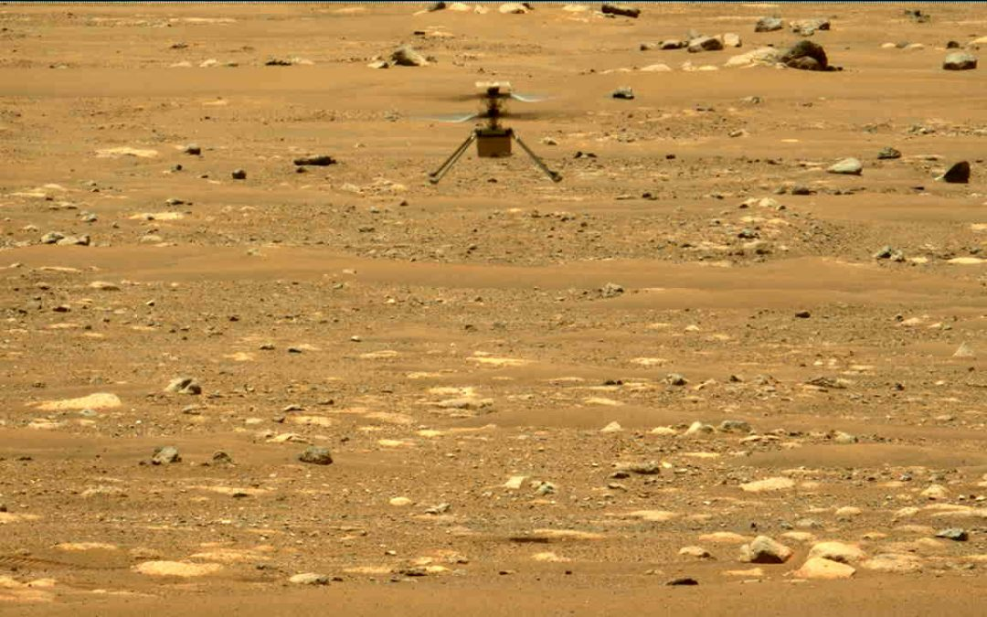 Mars helicopter completes 4 test flights, extends mission